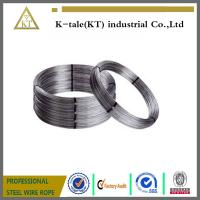Buy cheap Electro/Hot Dipped Galvanized Steel Wire 8 gauge 4.19mm, halambre de hierro galvanizado/cable oval product