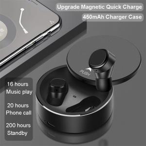 Buy cheap BK-TWS7 Intelligent Fingerprint touch Bluetooth 5.0 Earphone IPX5 Waterproof headsets product
