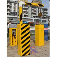 China 3M - 6M Option Cold Rolled Steel Vehicle Access Gate 220V AC / 110V AC Automatic on sale