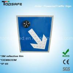 Buy cheap Aluminum Flashing Solar LED Traffic Direction Pole/Post (TPS-S3) product