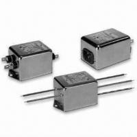China RFI Power Line Filters with 3 to 20A Current, for Switching Power Supply Noise Suppression on sale