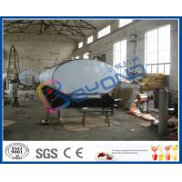 Buy cheap SUS316L Horizontal Milk Transport Tank With Insulation Layer 1000L-8000L from wholesalers