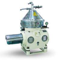 Buy cheap Automatic Disc Stack Stainless Steel Milk Cream Separator Low Power Consumption product