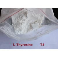 Buy cheap High Purity Safe Weight Loss Drug Levothyroxine T4 Powder CAS 51-48-9 product