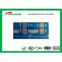 Quality Blue Solder Mask 14 Layer GPS Circuit Board FR4 TG180 10 BGA PCB for sale