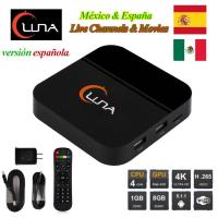 Buy cheap IPTV Spanish Channels Luna TV Box With 18 Months Account For Latin America product