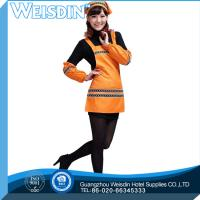Quality Hot sale advertising crazy selling embroidery logo promotion aprons for sale