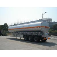 Buy cheap 3x12T BPW axle 46000L Aluminum Alloy Petroleum Mobile Fuel Tank Trailer product