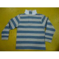 Buy cheap 100% Cotton French Terry Girls Stylish Top Polo Type Children'S Baseball Shirts product