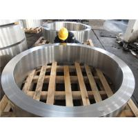 Buy cheap DIN 34CrNiMo6 Hot Rolled  Forged Steel Rings Hardness 30HRC - 40HRC Customized , Round Steel Blanks product