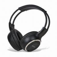 China Infrared In-car Wireless Headphones, Compatible with All in-vehicle AV Applications on sale