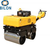 Buy cheap Walk Behind Vibratory Road Roller / 600kg Mini Road Roller 30% Grade Ability product