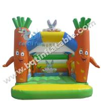 Buy cheap Inflatable carrot bouncer,inflatable combo,jumper for kid product