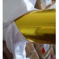 China hot sale self adhesive golden film on sale