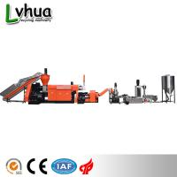Buy cheap Industrial Plastic Waste Recycling Machine PP PE Wet Film Reprocess Customized Color product