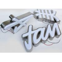 Buy cheap Plastic 5730 Led Channel Letters 3mm Acrylic Panel With Vacuum Formed 3D Face product