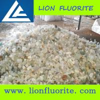Buy cheap Metallurgical Industry China Fluorspar Granule Size 90% Fluorite with low Silicion 5% with customized size 0-35mm product