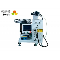 Buy cheap AC220V Electric Automatic cable tie packing machine for plastic tube fixed 0.9S product