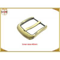 Buy cheap Fashion Gold Pin Style Metal Belt Buckle Environmental Electroplate product