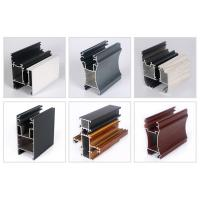 Buy cheap Customized size 6063 T5 Powder Coated Aluminum Profiels For Window / Door Frame product