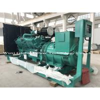 Buy cheap Cummins KTA19 Series Open Diesel Genset with ABB switch , 440KW Standby Power product