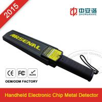 Buy cheap Railway Station / Airports Small Hand Held Metal Detector For Personal Security Inspection product