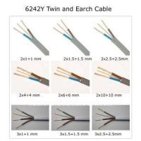Buy cheap 6mm2 6242y Twin & Earth Cable product