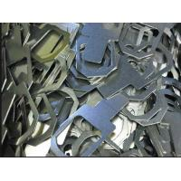 Buy cheap CNC punched brackets CNC punching of sheet metal mild steel brackets for pump housing product