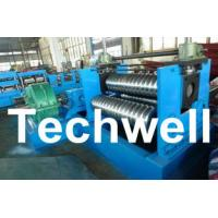Buy cheap 0.25 - 4.0mm 3 Sets Rollers Corrugated Sheet Bending Machine With 0 - 10m/min Speed product