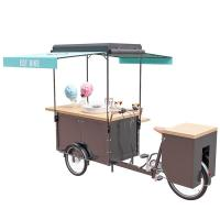 Buy cheap Multi Functional Mobile Snack Cart All Stainless Steel Frame CE Approval product