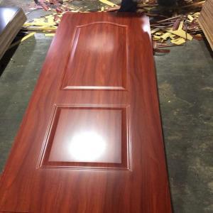 Buy cheap 5mm One Style Melamine Faced Interior Wood Door Skins , HDF Door Skin product