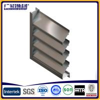 Buy cheap aluminium and glass window sun shutters and blades product