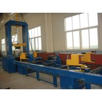 Buy cheap H Beam Assembly Machine Hydraulic Synchronize Clamp Flange Web Plate Combined Made in China product