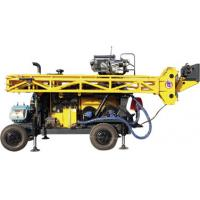 Buy cheap HWL Drilling Depth 1000m  Wheel Trailer Hydraulic Core Drilling Machine product