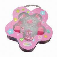 Buy cheap Lovely Displayer Box with Children's Ornament Set, Customized Designs/Specifications are Accepted product