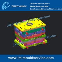 Buy cheap 1000g thin wall ice-cream containers and lids mould, thin walls Ice Bucket Lids mould product