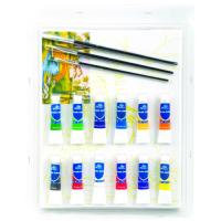 Buy cheap Rectangular Drawing Art Sets , Fashion Art Studio Paint Set For Adults product