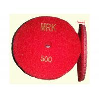"""Buy cheap High Working Efficiency 4 """" Resin Diamond Floor Polishing Pads For Stone 400# product"""