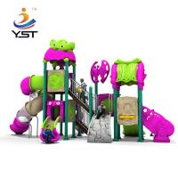 Buy cheap Naughty Fort Playground Equipment Slides , Commercial Playground Slides product