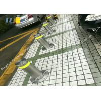 Buy cheap Car Park Hydraulic Retractable Bollards 304SS 316SS 600mm / 900mm Blocking Height product