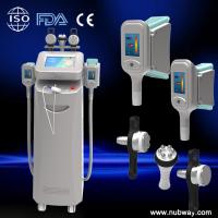 Buy cheap High quality vacuum cavitation rf cryolipolysis slimming machien for fat from wholesalers