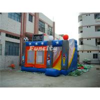 Buy cheap Outdoor Kids Inflatable Bouncer Sport Theme Inflatable Bouncy Castle With Slide product