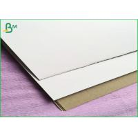 Buy cheap One Side Coated 300gsm Duplex Board For Light Concrete Grouting Wall , Partition Wall Panel product