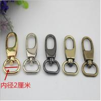 Buy cheap Simple design all kinds of color zinc alloy 20 mm metal swivel snap hooks for handbag leather product