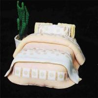Buy cheap best selling model beds furniture bed , mini model bed for indoor scenery layout product