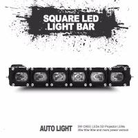 Buy cheap Christmas gift factory directly sale new square led light bar universal fitting product