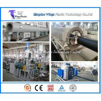 Buy cheap Supplyer For PE Pipe Production Line, HDPE Pipe Extrusion Machine product