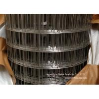 Buy cheap 304 3/4 Stainless Steel Welded Wire Mesh For Construction , Anti corrosion product