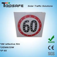 Buy cheap Aluminum Flashing Solar LED Traffic Speed-Limited Sign (TPS-S4) product