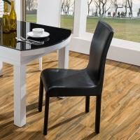 Buy cheap Waterproof PVC Leather Dining Chairs With Metal Legs Hotel Conference Using product